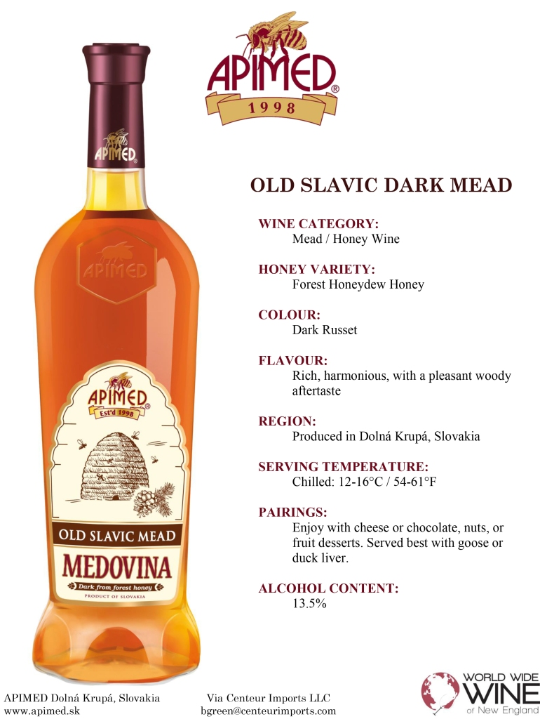 Old Slavic Dark Mead fact sheet